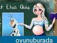 Prenses Elsa ile quiz