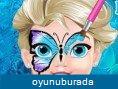 Elsa Kelebek Y�z Deseni